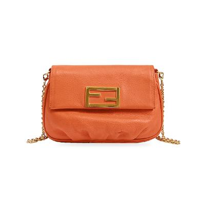 cross body mini bag orange